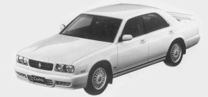 Nissan Cedric V30 TWINCAM TURBO TYPE X 1993 г.
