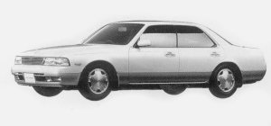 Nissan Laurel 25DE MEDALIST V 1993 г.