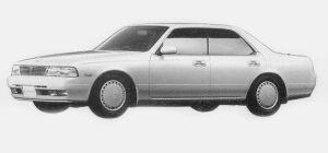 Nissan Laurel 20E MEDALIST 1993 г.
