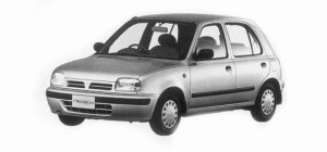 Nissan March 5 doors1000i z-f 1993 г.
