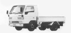 Mazda Titan 1.5T STANDARD CAB&BODY, WIDE&LOW 3.5L 1993 г.