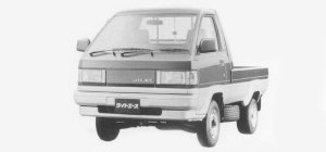 Toyota Liteace Truck SUPER SINGLE JUST LOW 750KG 1500 SUPER X 1993 г.