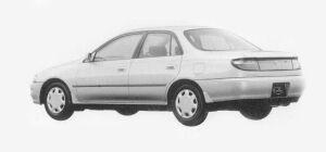 Toyota Carina SEDAN 1600SX-i ABS 1993 г.