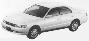 Toyota Chaser 2.5 AVANTE G FOUR 1993 г.