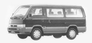 Nissan Homy 4WD GT CRUISE 2700 DIESEL TURBO 1993 г.