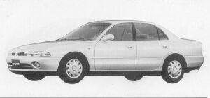 Mitsubishi Galant 1.8 16V MVV 1993 г.