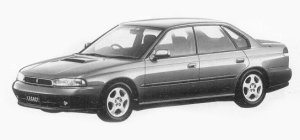 Subaru Legacy 4WD TOURING SPORT GT 1993 г.