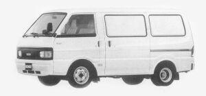 Mazda Bongo VAN 2200 DIESEL 5 DOORS DX 1993 г.