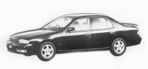Nissan Bluebird 2000 SSS-G 1993 г.
