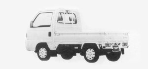 Honda Acty Truck 4WD TOWN 1993 г.