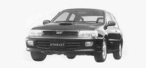 Toyota Starlet 3 DOORS GT 1993 г.