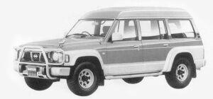 Nissan Safari VAN EXTRA HIGH ROOF 4200 DIESEL 1993 г.
