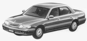 Mitsubishi Debonair EXCEED III 1993 г.