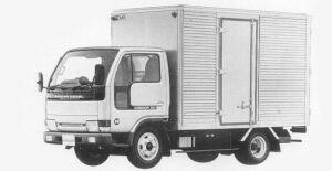 Nissan Diesel Condor 20 STANDARD, SUPER LOW, DRY VAN 1993 г.