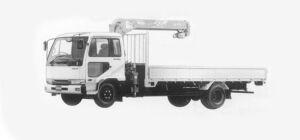 Nissan Diesel Condor FINE, CAB WITH CRANE 1993 г.