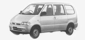 Nissan Vanette SERENA CARGO 4DOOR DIESEL 2000 LX 1993 г.