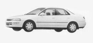 Toyota Carina SEDAN 1800SE 1993 г.