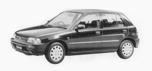 Daihatsu Charade CR 1500 5DOORS 1993 г.