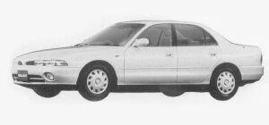 Mitsubishi Galant V6 2.0 DOHC 24V MX 1993 г.