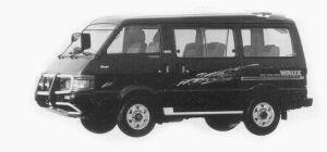 Mazda Bongo WAGON 4WD 2000 DISEL TURBO WAUX 1993 г.