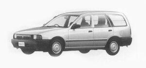 Nissan AD 4 DOORS VAN 1500VX 1993 г.