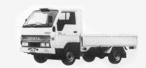 Toyota Dyna SUPER SINGLE J/L LONG DECK 1.5t DIESEL 1993 г.