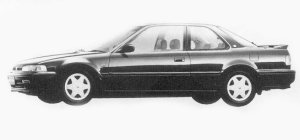 Honda Accord Coupe 2.2i EXCLUSIVE 1993 г.