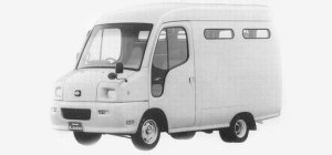Nissan Atlas Loco 100 2WD HIGH ROOF DX 2 SEATER 1993 г.