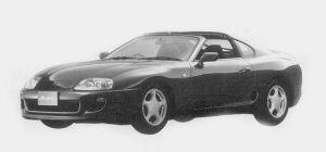 Toyota Supra SZ AERO TOP 1993 г.