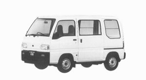 Subaru Sambar VAN STD 5MT 1992 г.