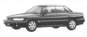 Subaru Legacy 4WD TOURING SEDAN 2.0L GT 1992 г.