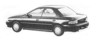Subaru Impreza HARD TOP SEDAN 1.5L CS 1992 г.