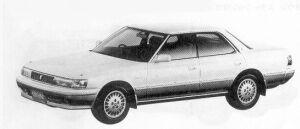 Toyota Chaser 2.5 AVANTE G 1992 г.