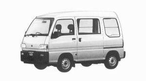 Subaru Sambar VAN HIGH ROOF SDX 5MT 1992 г.