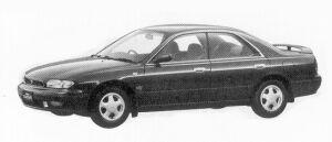 Nissan Bluebird 2000ARX SUPER TOURING 1992 г.