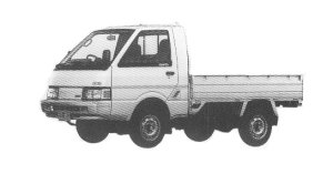 Nissan Vanette Truck 4WD 2000GL-L 1992 г.