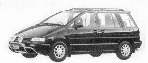 Nissan Prairie 240 G7 1992 г.