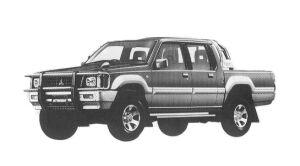 Mitsubishi Strada R 1992 г.