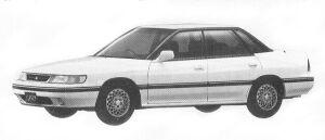 Subaru Legacy TOURING SEDAN 2.0L VZ 1992 г.
