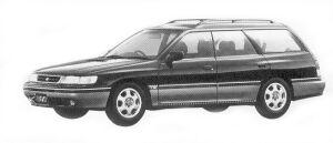 Subaru Legacy 4WD TOURING WAGON 2.0L GT 1992 г.