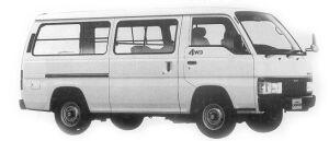Nissan Caravan VAN 4WD 5DOOR 2700 DIESEL DX 1992 г.