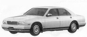 Nissan Cima TYPE III S-FOUR 1992 г.