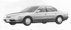 Mitsubishi Eterna 2.0 DIESEL TURBO LU 1992 г.