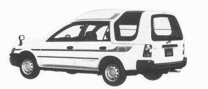 Toyota Sprinter HIGH ROOF VAN 4WD 2000 DIESEL XL 1992 г.