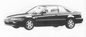 Honda Integra 3DOOR COUPE RSI 1992 г.