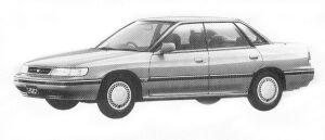 Subaru Legacy 4WD TOURING SEDAN 1.8L TI 1992 г.