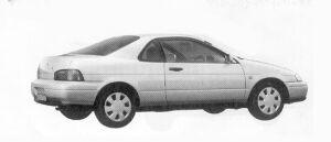 Toyota Cynos A 1992 г.