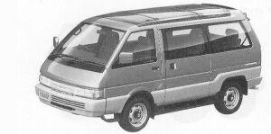Nissan Vanette LARGO COACH 4WD SUPER SALON SV DIESEL 1992 г.