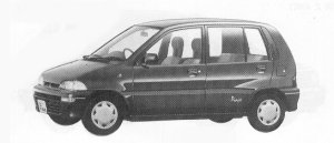 Mitsubishi Minica 5DOOR PIACE E 1992 г.