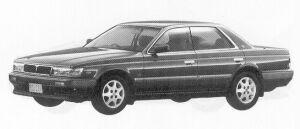 Nissan Laurel RB20E S SV 1992 г.